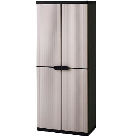 Plastic Cupboard For by Keter 4 Shelf Plastic Storage Cabinet Cupboard Buy Click