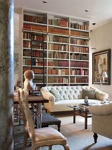 Echelle Decorative Blanche : biblioth que contemporaine et design pour vos livres ~ Teatrodelosmanantiales.com Idées de Décoration