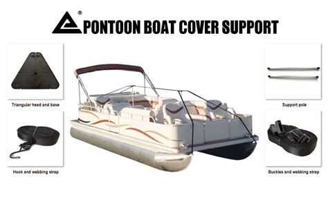 Boat Service Rockhton by New Pontoon Cover Support Pole Stand Kit Supporting System