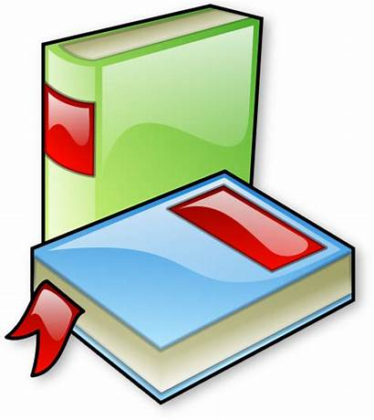 Books Clipart Library Things Reading Classroom Children