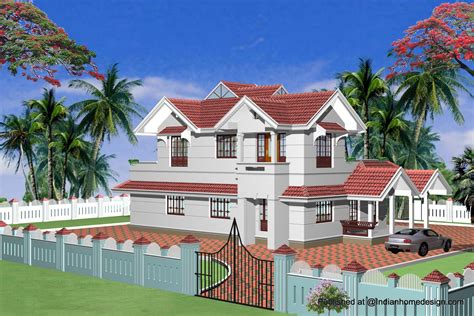 Home Design : Single Storey House Designs India