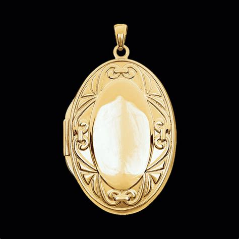 oval fancy locket intricate  elegant  gracious rose