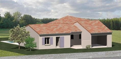 plan plain pied 2 chambres construction 86 fr gt plans pour maison plain pied de type