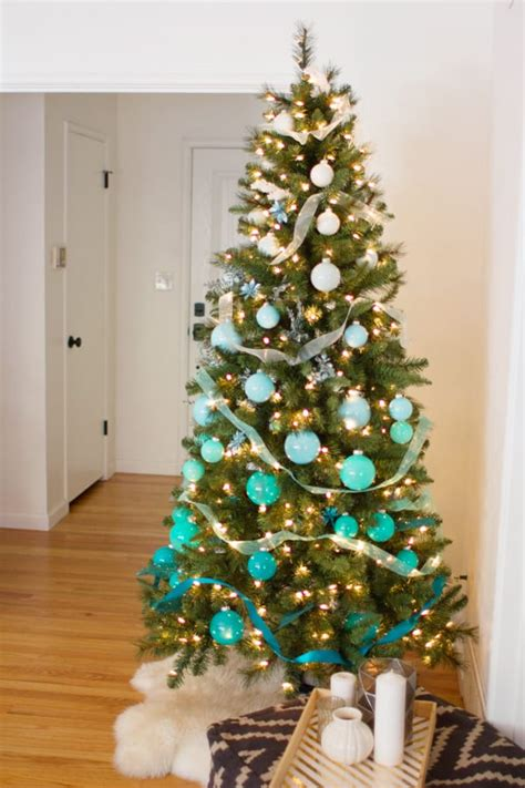 diy ombre christmas tree lovely