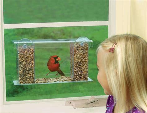 window bird feeder duncraft one way magic mirror window bird feeder 187 gadget flow