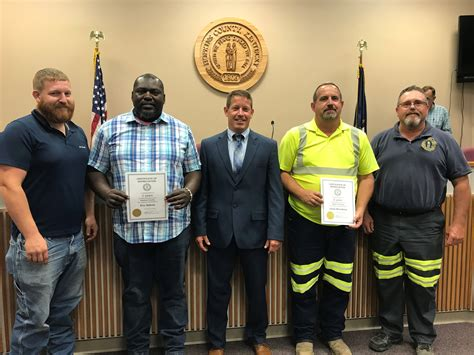 service awards presented july fiscal court meeting