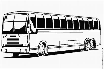 Bus Transportation Coloring Drawing Pages Printable Drawings