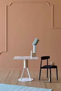 Tisch Holz Metall : geronimo viereckiger tisch miniforms aus holz und metall in verschiedenen gr en und ~ Somuchworld.com Haus und Dekorationen