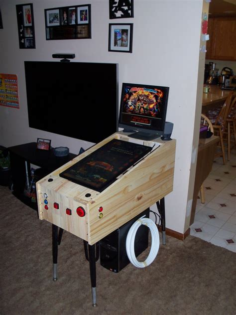 Mini Arcade Cabinet Kit Uk by Tredog S Mini Pin Arcade Cabinet Hyperpin Cabinet Forum
