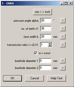 Zahnrad Modul Berechnen Online : zar4 variable spur gears ~ Themetempest.com Abrechnung