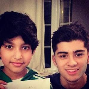 Zayn and his cousin! | Malik sisters | Pinterest | What's ...