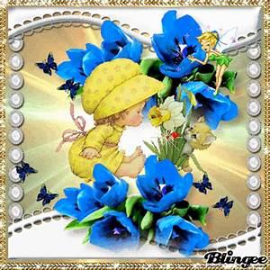 Blumen Der Liebe : die wundersch nen bunten blumen und der liebe kleine engel geniesset den duft von narzissen mit ~ Orissabook.com Haus und Dekorationen