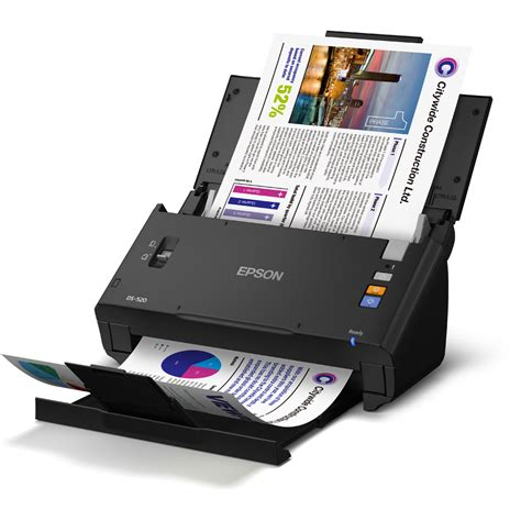 epson workforce ds 520 a4 colour sheetfed scanner