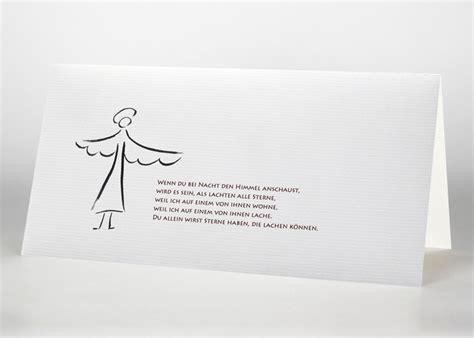 trauerkarten mit symbolmotiven den tod anzeigen