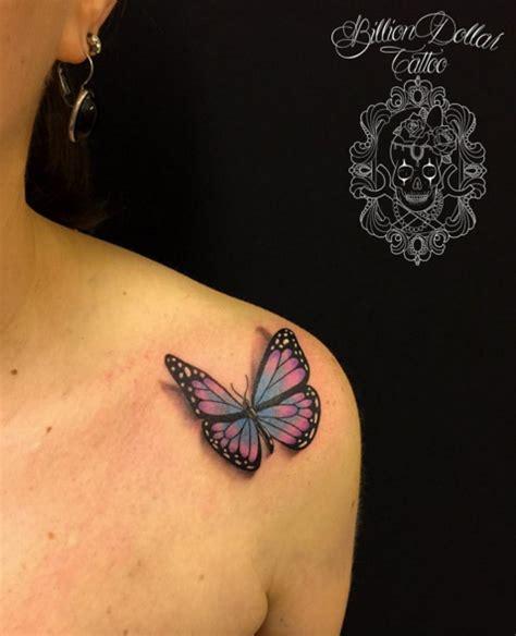breathtaking butterfly tattoo designs  women