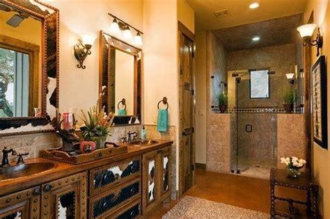 western bathroom choosing  paint color stylish western