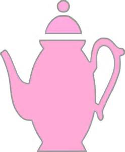 Pink Teapot Clip Art