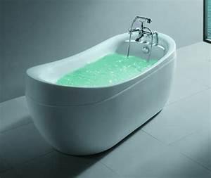 Robinet Baignoire Ilot : salle de bain baignoire ilot comisa robinet ~ Nature-et-papiers.com Idées de Décoration