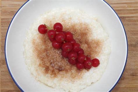 kochen mit obst milchreis kochen einfaches rezept zum selbermachen