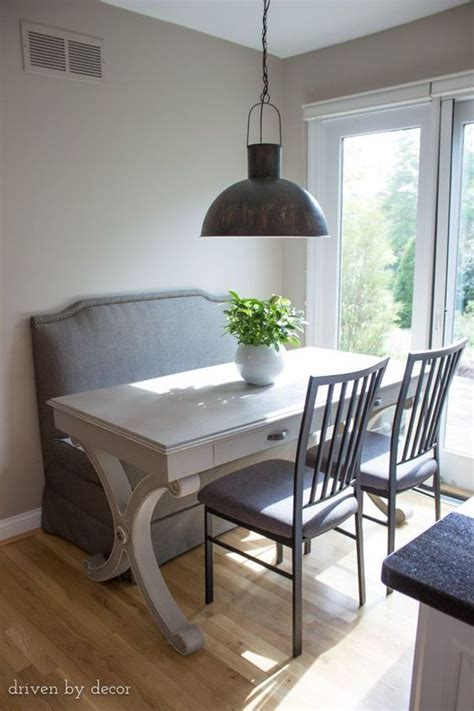 Kitchen Table Upholstered Bench by Kitchen Cabinet Refacing Our Before Afters Door Bench