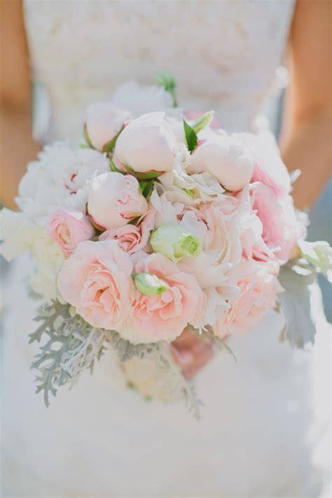 Southern Weddings Pink And White Bouquet Live What You Love