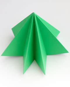 step by step christmas tree oragami wiki with pics origami trees