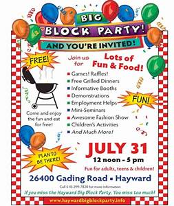 hayward seventh day adventist church news big block With block party template flyers free