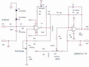Schematics Of Delabs  Thermocouple Amplifier Standard