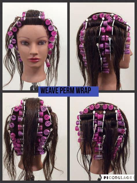 weave perm wrap hair styles headband hairstyles short