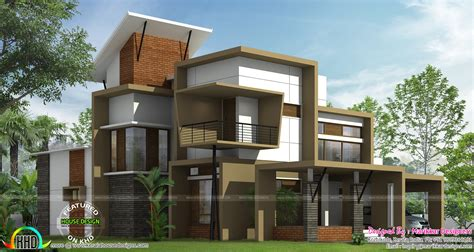 home designs modern ultra contemporary house kerala home design and