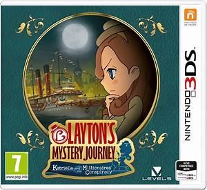 Layton39s Mystery Journey EU Boxart Nintendo Everything