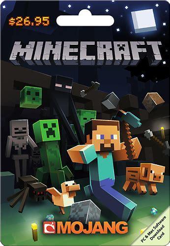 Minecraft $26.95 Download Card MINECRAFT $26.95   Best Buy
