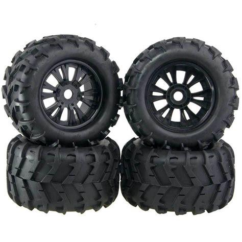 baja truck wheels 4pcs 3 2 rubber rc 1 8 wheels tires 150mm for off road