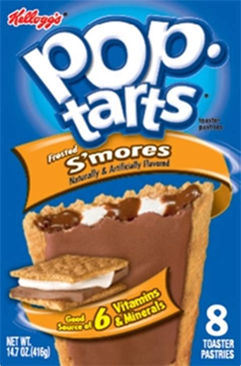 Kelloggs Pop Tarts Choc & Marshmallow S Mores 416g