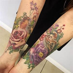 50 Truly Artistic Watercolor Sleeve Tattoos - TattooMagz