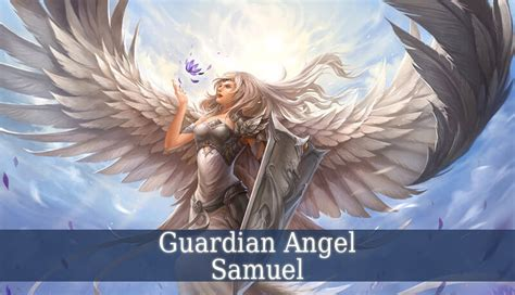 Epic Anime Girl Wallpaper Guardian Angel Samuel Angel Of Healing Guardian Angel Guide
