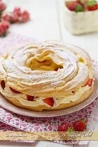 La Pasta Brest : paris brest con crema e fragoline ricetta voglia di dolce ~ Medecine-chirurgie-esthetiques.com Avis de Voitures