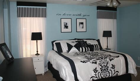 black and blue bedrooms homeofficedecoration black and white and blue bedrooms