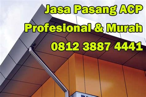 acp pekanbaru aluminum composite panel kontraktor acp indonesia