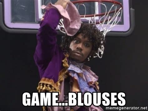 Game Blouses Meme - pics for gt dave chappelle prince meme