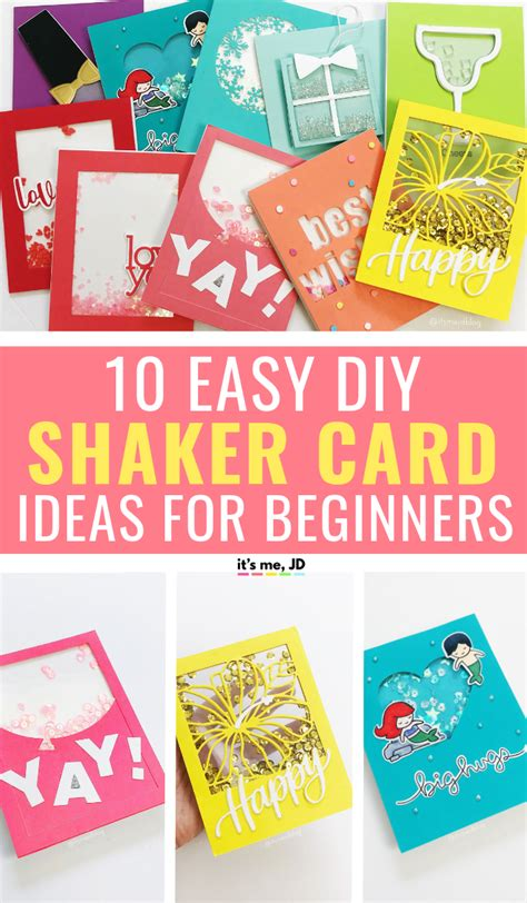 10 Easy Shaker Card Ideas That Are Perfect For Beginners