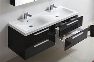 Doppelwaschbecken 100 Cm : badm bel set r1440 anthrazit badewelt badm bel badm bel set ~ Orissabook.com Haus und Dekorationen