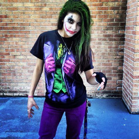 joker kostüm selber machen die besten 25 joker kost 252 m ideen auf weiblicher joker weiblicher joker und