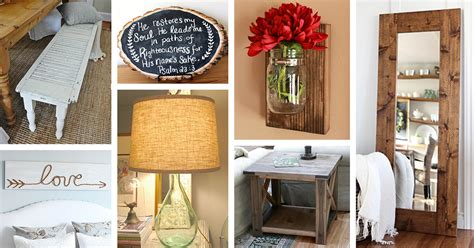 Diy Home Decor Projects And Ideas: 39 Best DIY Rustic Home Decor Ideas And Designs For 2017