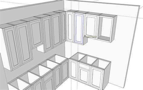 kitchens  sketchup finewoodworking