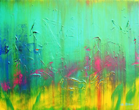 Wallpapers Beautiful Acrylic Art Painting Colourful