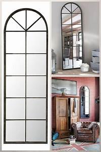 Miroir Fenetre Maison Du Monde : 12 magnifiques miroirs industriels d couvrir ~ Teatrodelosmanantiales.com Idées de Décoration