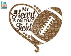 Football Field That On My Heart Is SVG