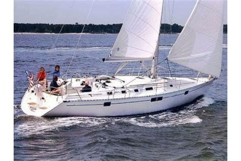 Charter Boat Hits Sailboat by 1995 44 Beneteau 440 For Sale In Marina