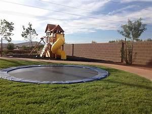In Ground Trampolin : best 25 in ground trampoline ideas on pinterest ground trampoline sunken trampoline and ~ Orissabook.com Haus und Dekorationen